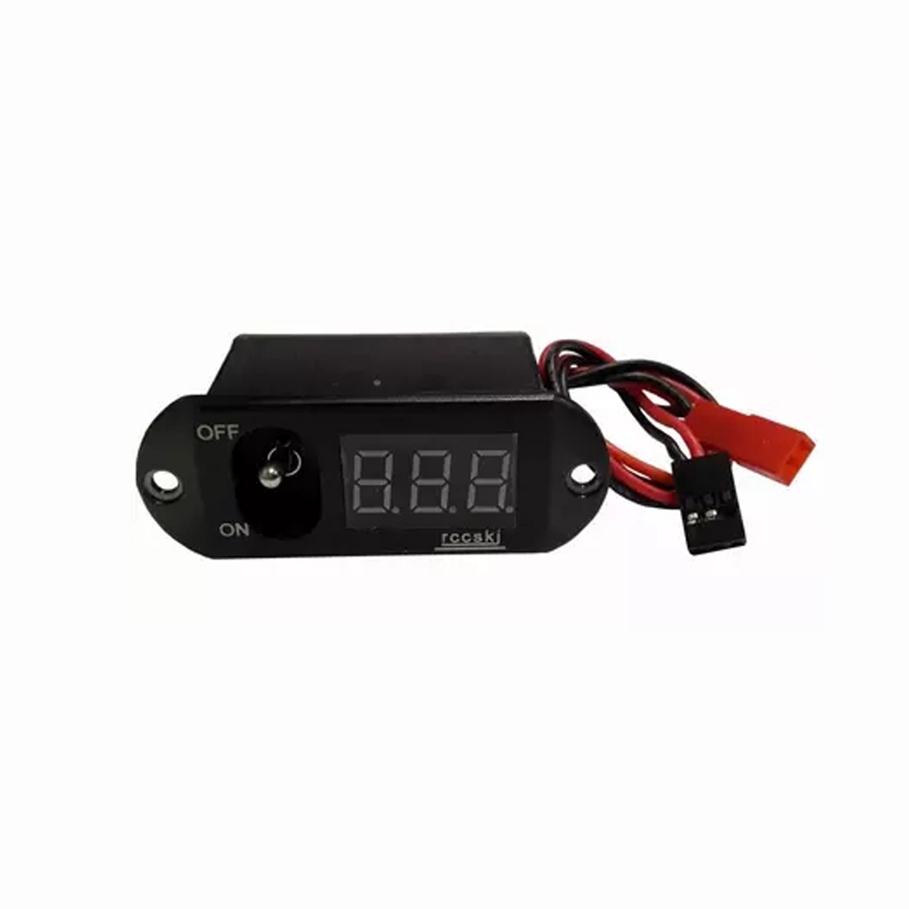 1 Unidad 2 unidades en 1 5A UBEC interruptor de pantalla Digital voltaje 4-13 V corriente para RC Hobby