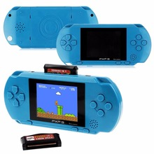 3 Inch 16 Bit PXP3 Slim Station Video Games Player Handheld Game 2 Pcs Free Game