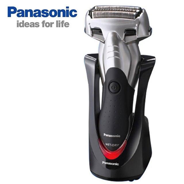 Orijinal Panasonic Üç kafa pistonlu şarj jilet Su Geçirmez Şarj Edilebilir erkek Elektrikli Tıraş Makinesi düzeltici ES BSL4