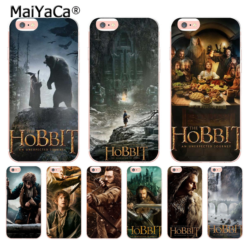 Cellphones & Telecommunications Accessories Phone Cases Covers The Hobbit Movie Novelty Fundas For Iphone X Xr Xs Max 4 4s 5 5s 5c Se 6 6s 7 8 Plus Durable In Use
