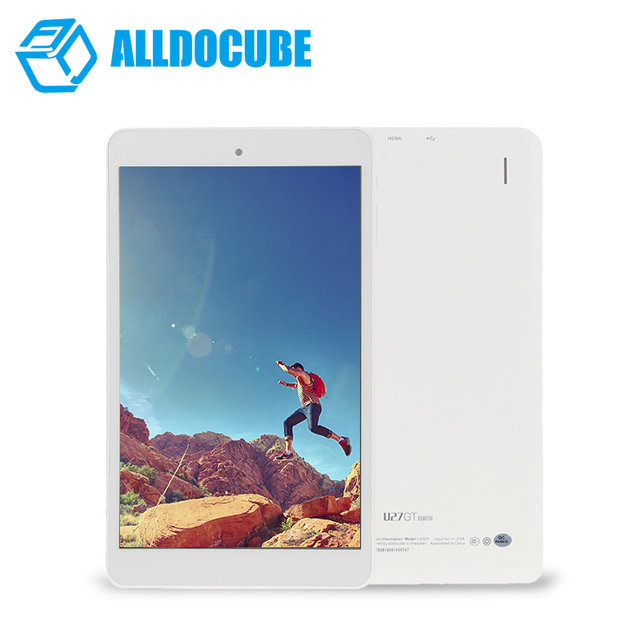 Cube u27gt супер/u33gt tablet pc quad core mtk8163 8 дюймов ips 1280*800 android5.1 1 ГБ оперативной памяти 8 ГБ bluetooth hdmi двойная камера