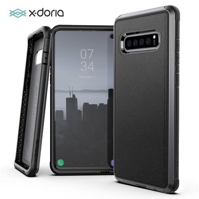 X Doria Defense Lux Case For Samsung Galaxy S10 Plus S10e Military Grade Drop Tested Anodized Aluminum Case Cover For S10 Plus
