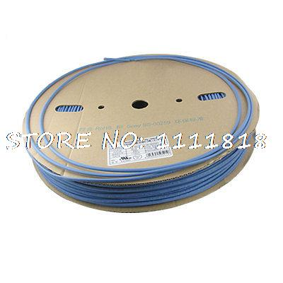 Blue 4.0mm x 200 Meters Heat Shrinkable Tubing Tube RollBlue 4.0mm x 200 Meters Heat Shrinkable Tubing Tube Roll