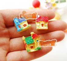 Mini dollhouse Mini furniture accessories color small house 3 moss micro landscape available
