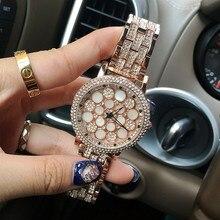 Мода Роскошные Часы Женщины Вращающийся Циферблат Браслет Кварцевые часы Розовое Золото Серебро Женщин Наручные Часы Relógio Feminino reloj mujer