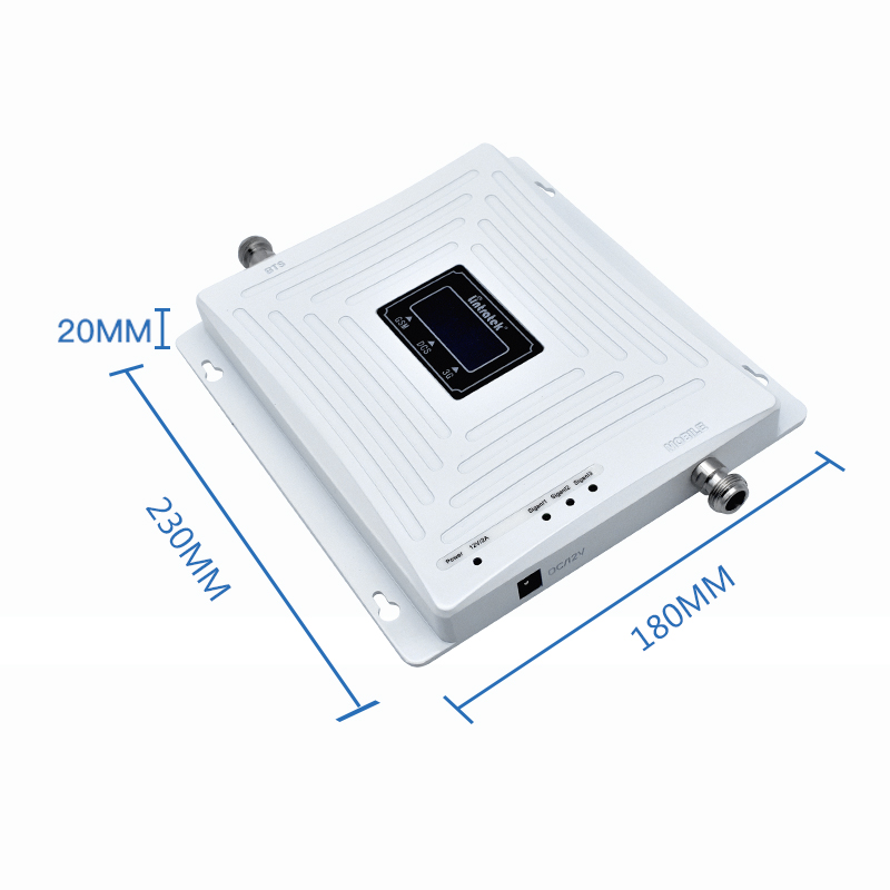 Image 4 - Lintratek Repeater 900 2100 2600Mhz Signal Booster 2G 3G 4G LTE Tri Band Amplifier GSM 900 3G 2100 4G 2600 WITHOUT ANTENNA @7-in Signal Boosters from Cellphones & Telecommunications