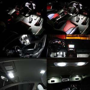 Image 5 - WLJH 10x T10 W5W Led lampe Licht 3030 SMD Auto Auto Innen Dome Parkplatz Lichter Lizenz Platte Lampe Lampen Nicht polarität Universal