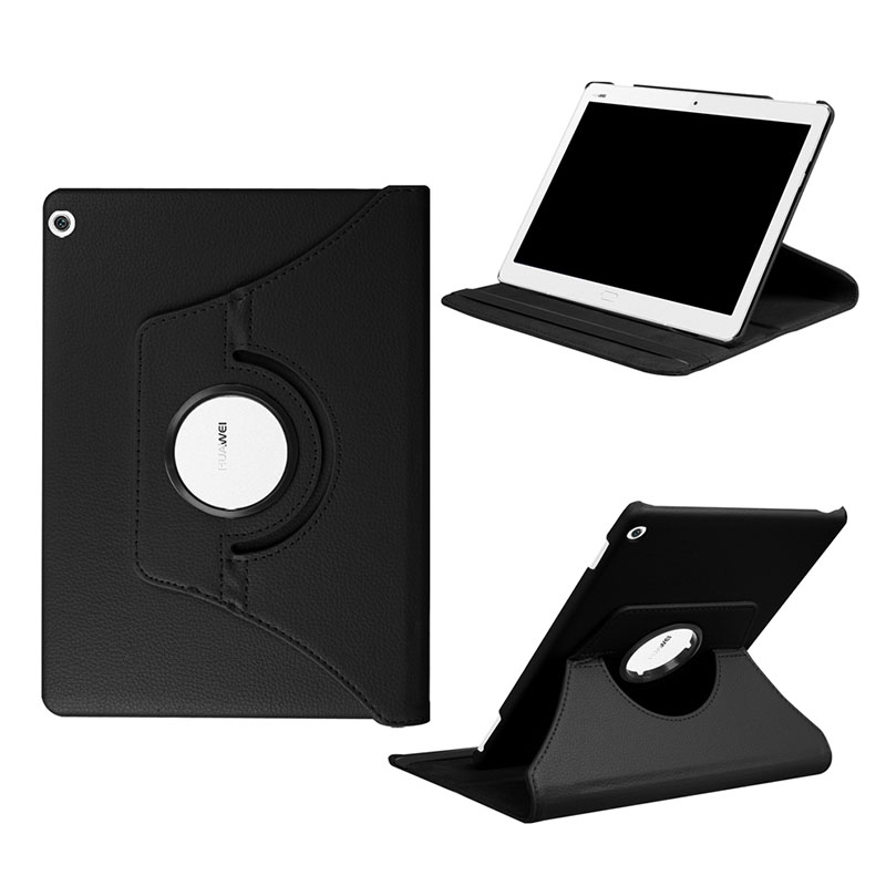 360 Rotation Case For Media Pad M3 Lite 10 Stand Cover PU Leathercase For Huawei Mediapad M3 Lite 10.1 BAH-W09 BAH-AL00