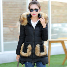 Warm Thick Winter Jackets Women 2016 New Hooded Long  Womens Winter Jackets And Coats High Quality Warm Hooded Parkas S23478