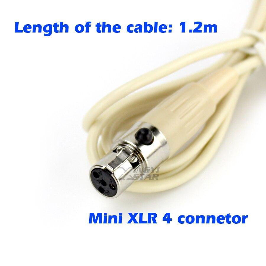 XLR 4 Pinos Clipe de Gravata no