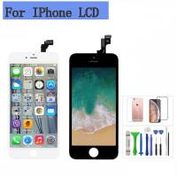 LCD Für iPhone 7 7Plus 8 8Plus LCD Display Touchscreen Digitizer Montage Ersatz 3D touch Mit Freies geschenke-in Handy-LCDs aus Handys & Telekommunikation bei