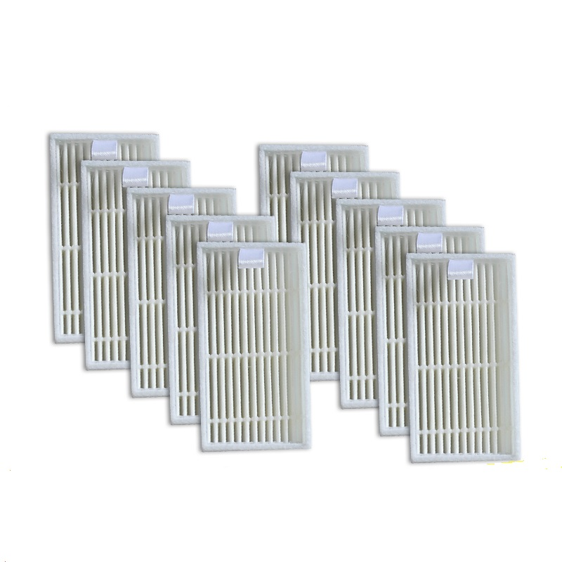 10 piece HEPA Filter for CHUWI V3 iLife V5 V3+ V5PRO Robot Vacuum Cleaner Robotic Vacuum Cleaner for Home 6pcs side brushes for chuwi v3 v3 v5 v5pro ilife v3 robot vacuum cleaner robotic vacuum cleaner