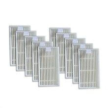 10 шт. HEPA Фильтр для CHUWI V3 V5 V3 + V5PRO iLife Робот Пылесос Робот Пылесос для Дома