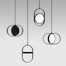 Современные светодиодный головокружение подвесной светильник La подвеска E27 Констанция Guisset est ООН светильник для Обеденная Ресторан Лампе блеск