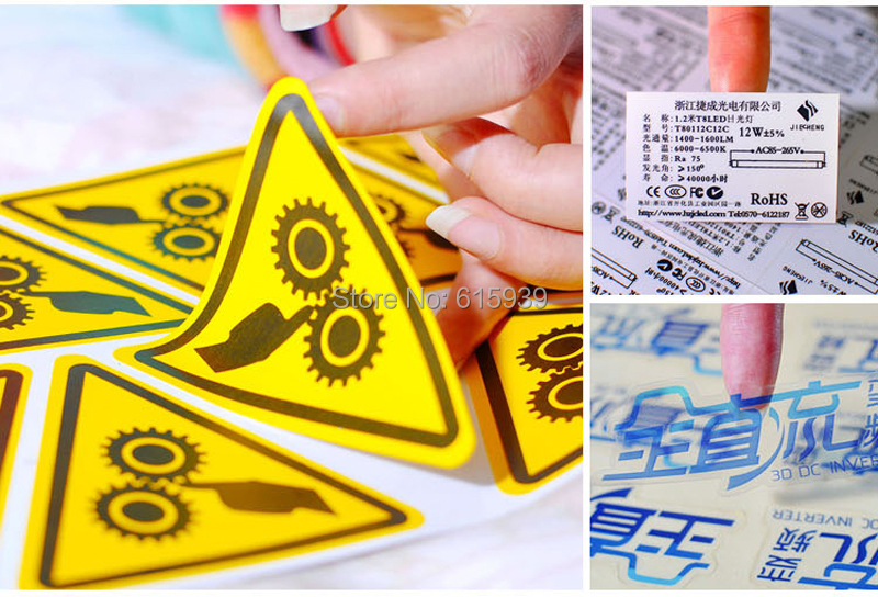 Personalizado private label cosméticos etiqueta