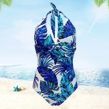 лучшая цена Bath Suit One-Piece Swimwear 2019 Sexy One Piece Swimsuit For Women Swimsuit Bikini Brazilian Swim Suit Maillot De Bain Femme