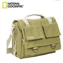 National Geographic NG 2476 Camera Carry Bag Soft Messenger Bag Portable Crossbody Bag For Action DSLR Travel Diary Mini Laptop