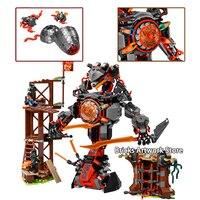 Fit Ninjagoes 70626 Dawn of Iron Doom Mech Set Mini Figures Zane Floyd WU JAY Kai DIY Building Blocks Toys for Children Gifts