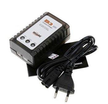 Ewellsold, cargador de batería IMAX B3 Lipo, 7,4 V, 11,1 V, 2S, 3S, 110-240V, para enchufe cuádruple de ee.uu./Enchufe europeo