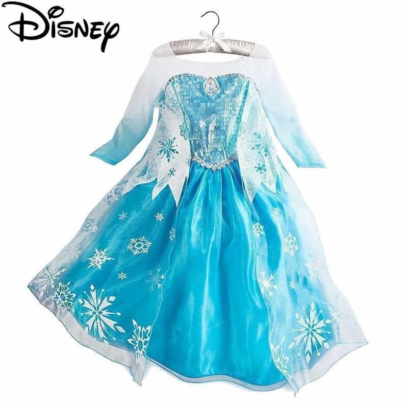 Платье «Холодное сердце Диснея»; Детские костюмы для девочек; Маскарадный костюм принцессы Анны и Эльзы; fantasia vestido infantils; Карнавальный Костюм «Моана»; my little