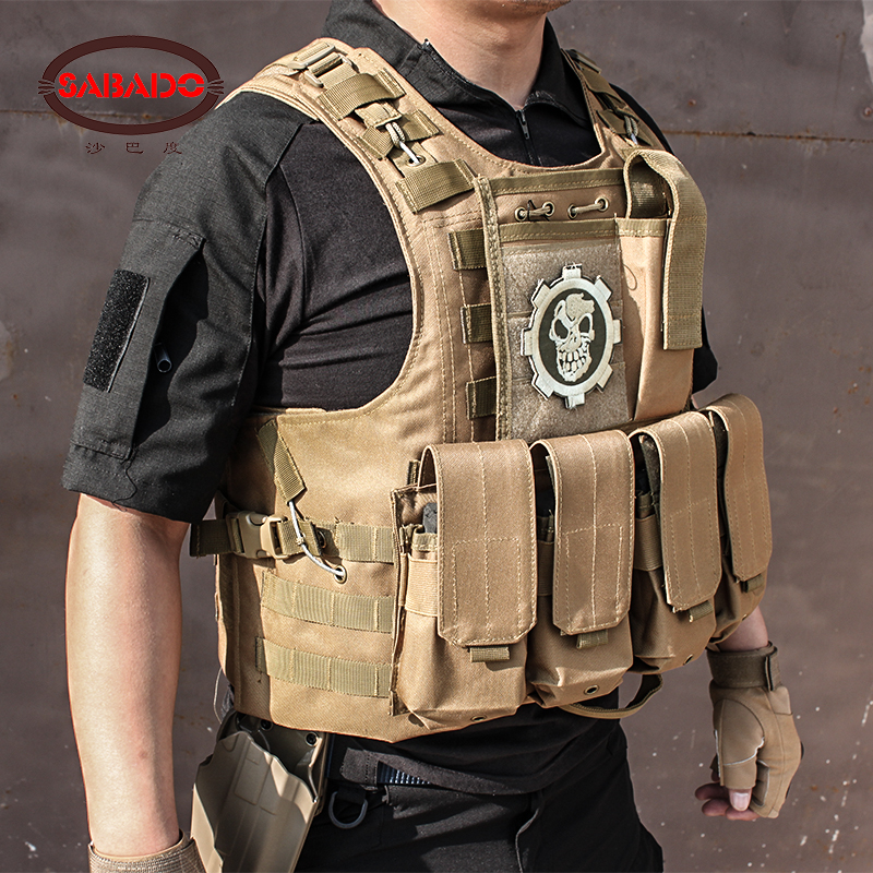 2019 CS WarGame Airsoft 8 couleurs poche Molle Combat assaut plaque transporteur tactique gilet vêtements de plein air militaire chasse gilets