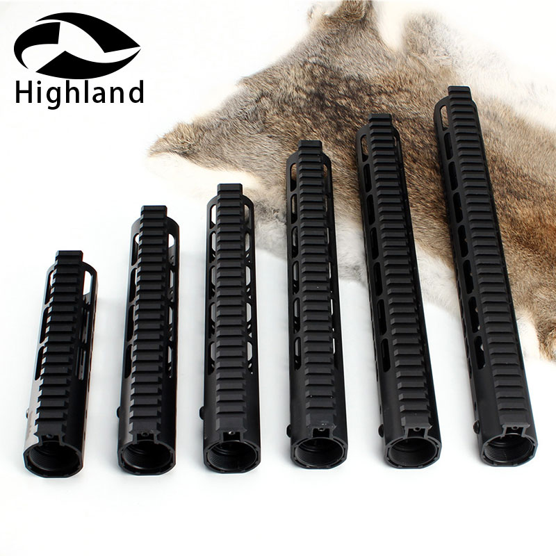 Hunting 13.5inch Tactical Heavy duty .223/5.56 Picatinny Rail System Free Float Keymod Handguard for M16 M4 Handguard