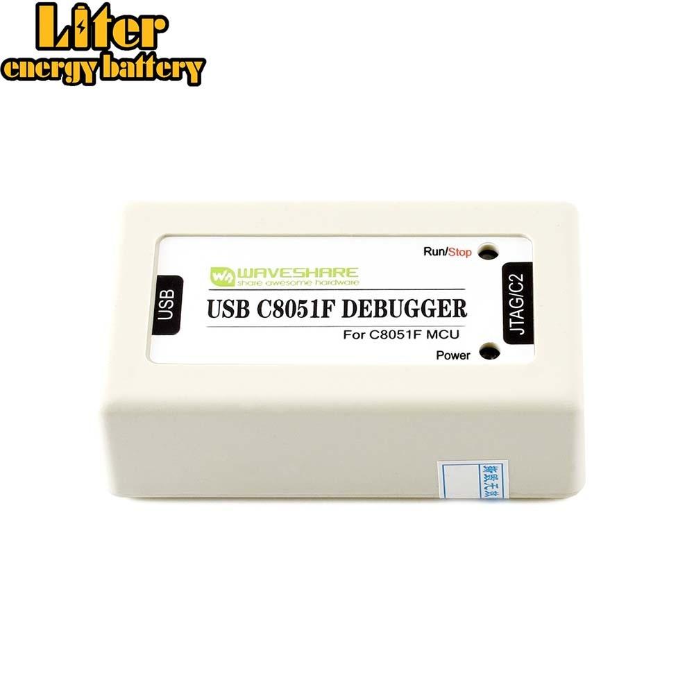 C8051F Emulator C8051Fxxx MCUs USB C8051F Debugger Programmer With JTAG And C2 Interface