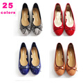 good quality women ballet flats dancing party shoes soft sole casual slip on casual shoes 25 color