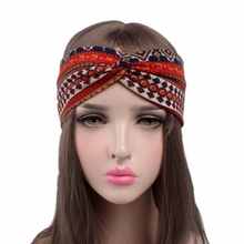 LARRIVED Patchwork Cotton Sports Headband For Female Adult Fashion Causal Elastic Turban Hairband Headwraps Hair Accessories