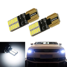 2x W164 T10 W5W LED 4014SMD Wedge Light Sidelight No Error For Volkswagen Polo Passat b5 b6 CC Golf 4 5 6 7 mk6 tiguan 2x w164 t10 w5w led 4014smd wedge light sidelight no error for volkswagen polo passat b5 b6 cc golf 4 5 6 7 mk6 tiguan