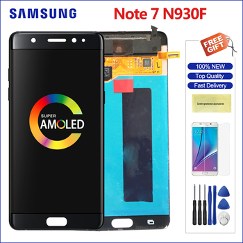 samsung note 7 touch screen lcd super amoled digitizer phone screen repair replacement for galaxy note7 N930F N930F with frame