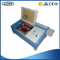 50w CO2 Mini Laser Engraving Machine 320 For Cutting Paper Engraving Rubber Stamp