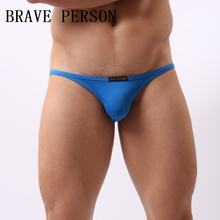 Brave Person Sheer Pouch Bikini Underwear