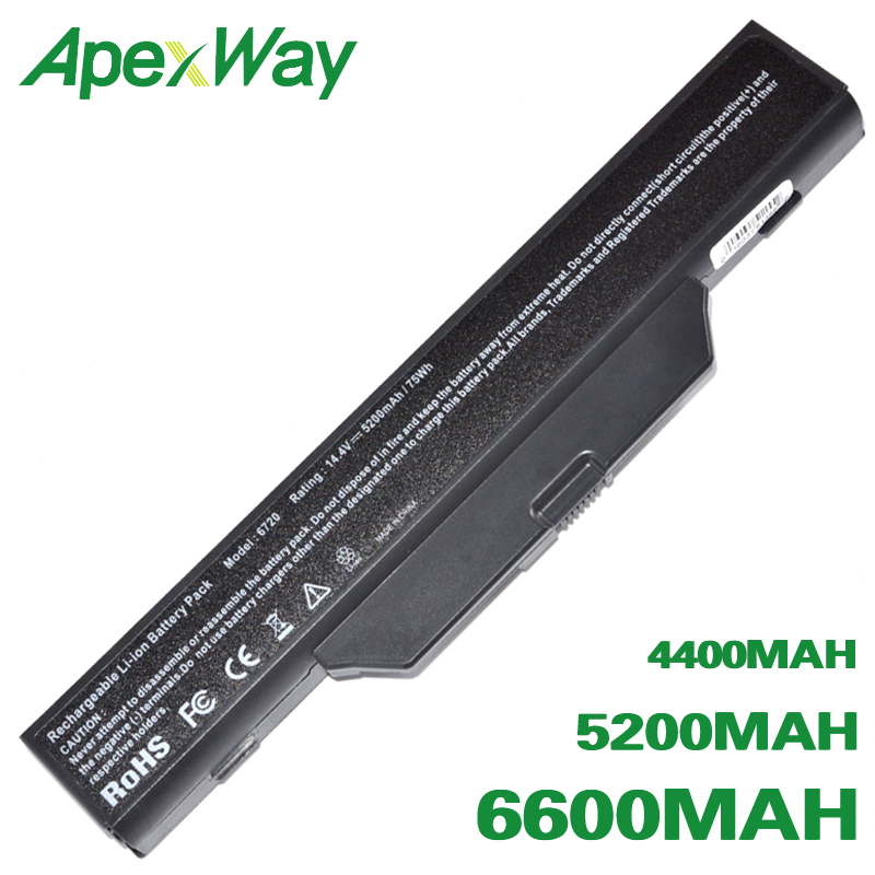 ApexWay Laptop battery For COMPAQ 510 511 610 615 For <font><b>HP</b></font> 550 Notebook PC Business Notebook 6720s 6730s 6735s <font><b>6820s</b></font> 6830s image