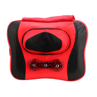 HFR 818 3B Health Forever Brand Electric Shiatsu Kneading Rolling Neck Back Waist Full Body Butterfly Massage Pillow Cushion