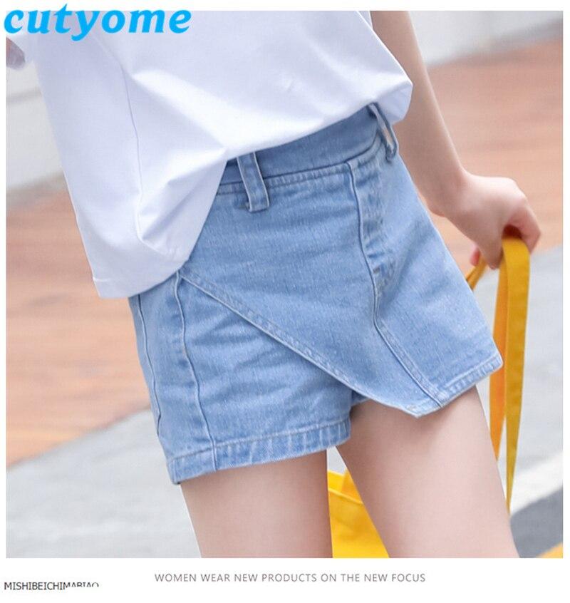 teenage girls faux skirt shorts14