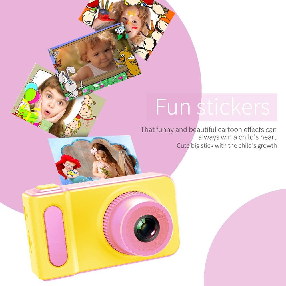 IPS HD Screen Kid Camera Toys Mini Lovely Kids Anti-shake Digital Camera Max Memory Expansion For Child Gift 8*4.5*4.5cm