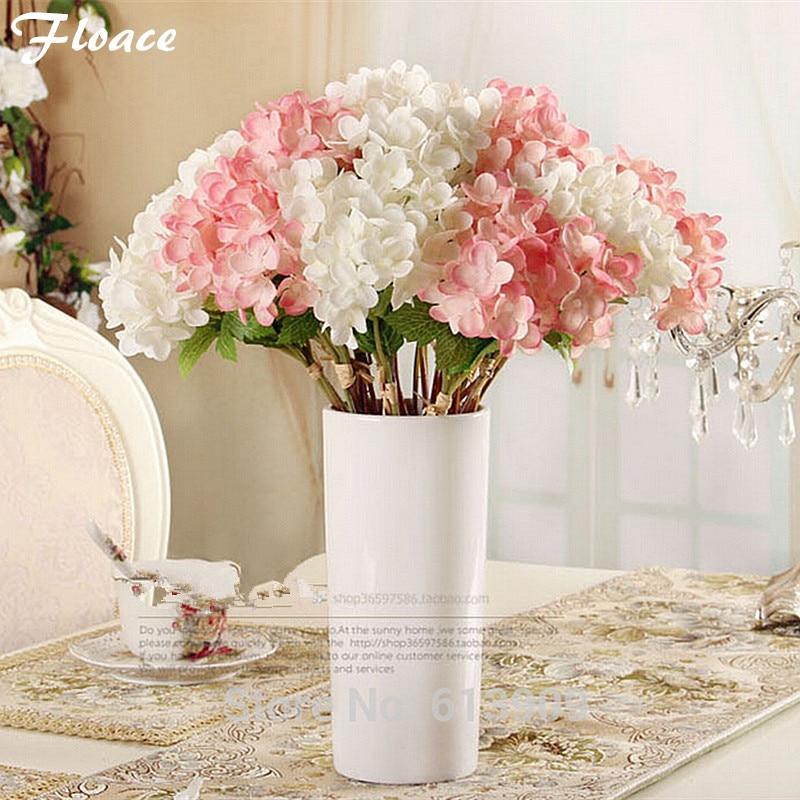 Floarea Artificial Mini Proaspete de mătase Hydrangea Nunta / Home - Produse pentru sărbători și petreceri
