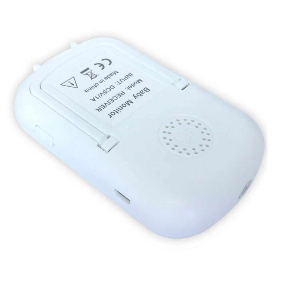 Loozykit 2.4 GHz 2.4 pouces LCD affichage sans fil bébé moniteur vidéo Vision nocturne surveillance de la température bébé téléphone moniteur Audio - 5