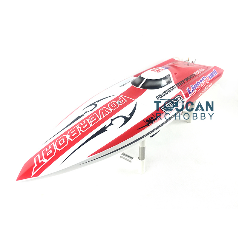 E26 PNP Thunder Fiber Glass Electric Racing Speed Boat W/2550KV Brushless Motor/90A ESC Deep Vee Boat Red h625 rtr spike fiber glass electric racing speed boat deep vee rc boat w 3350kv brushless motor 90a esc remote control green