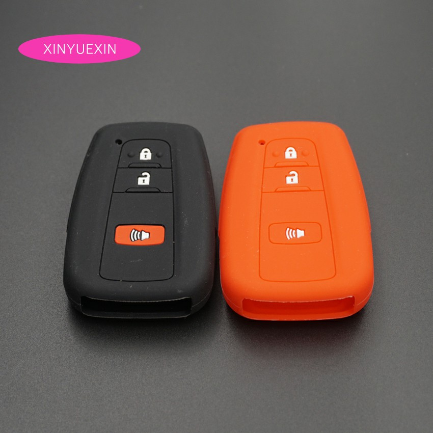 Car Key Fob Cover for Toyota Silicone Rubber Case