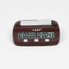1089ffa4ef1 LEAP Professional Digital Contagem Temporizador Esportes Eletrônicos  Relógios de Xadrez relógio de xadrez Jogo de Tabuleiro Bônu.