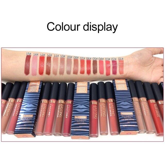 Lápiz labial brillante de Color atractivo resistente al agua brillo de labios hidratante brillante brillo de labios colorido