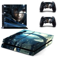 Game Final Fantasy PS4 Skin Sticker Decal For PlayStation 4 Console and 2 Controllers PS4 Skin Vinyl Stickers