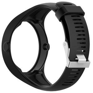 Image 5 - Nützliche Premium Silikon Weiche Band Uhr Handgelenk Gurt Für Polar M200 GPS Uhr Ersatz
