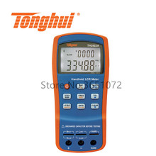 TH2822A Portable LCR Meter with Test Frequency 100Hz, 120Hz,1kHz,10kHz RLC Meter