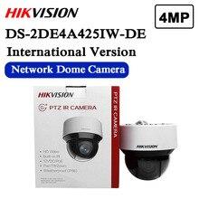 Darmowa wysyłka angielska wersja DS 2DE4A425IW DE zastąpić DS 2DE4A320IW DE 4MP 25x sieci IR kamera PTZ