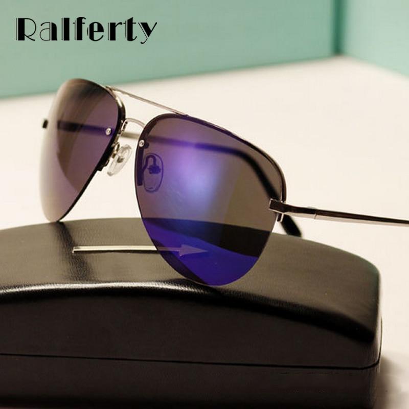 404ccd4462240 Ralferty Moda Unissex Steampunk Piloto óculos de Sol Dos Homens Das  Mulheres Designer de Marca Óculos De Sol Para Mulher Feminino Shades Oculos  3058