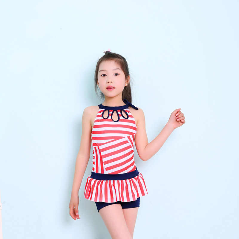 eb2249a576 One Piece Swim Wear Children Swimming New Swimsuit For Girls Children Kids  Bikini Sets Girl s Swimwear