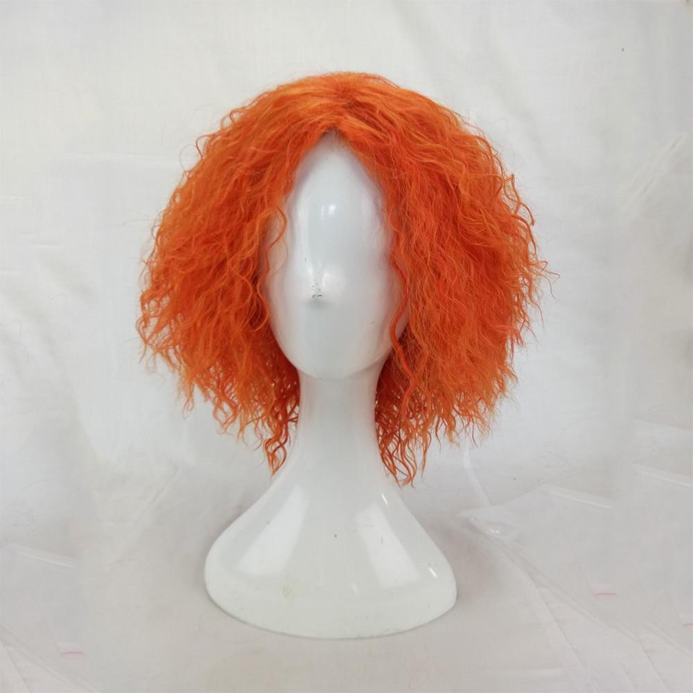 HAIRJOY Kinky Curly Paryk Syntetisk Hår Kvinna Medel Längd - Syntetiskt hår - Foto 2